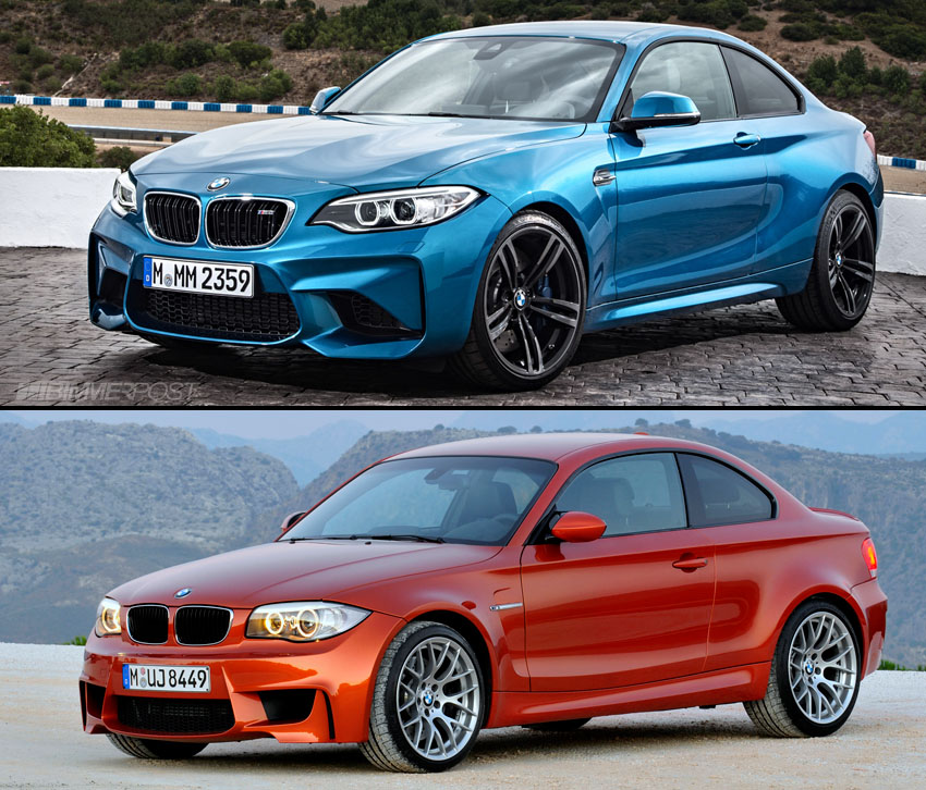BMW M2 vs 1 Series M Coupe Compared