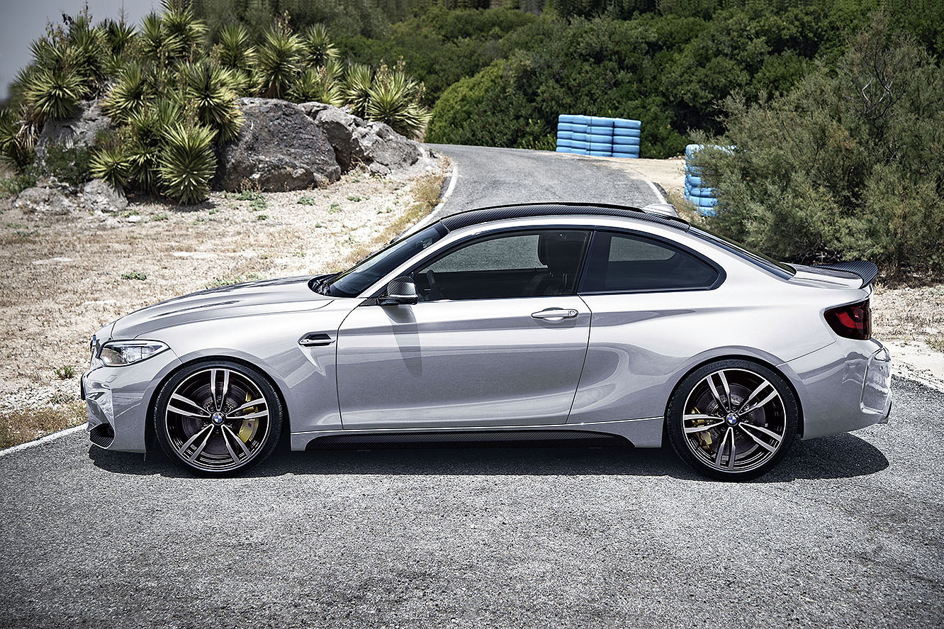 Forthcoming BMW M2 Competition gets five colors: which ...