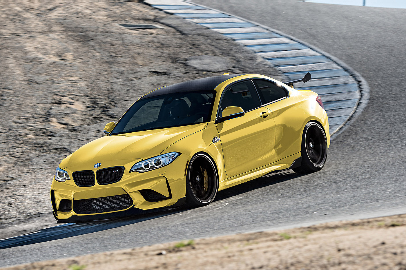 Yellow M2 found: BMW M Performance Drive Day — M2 and M4 ...