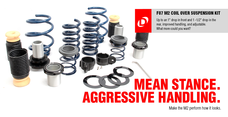 NEW RELEASE: Dinan Adjustable Coil Over Kit for the F87 M2