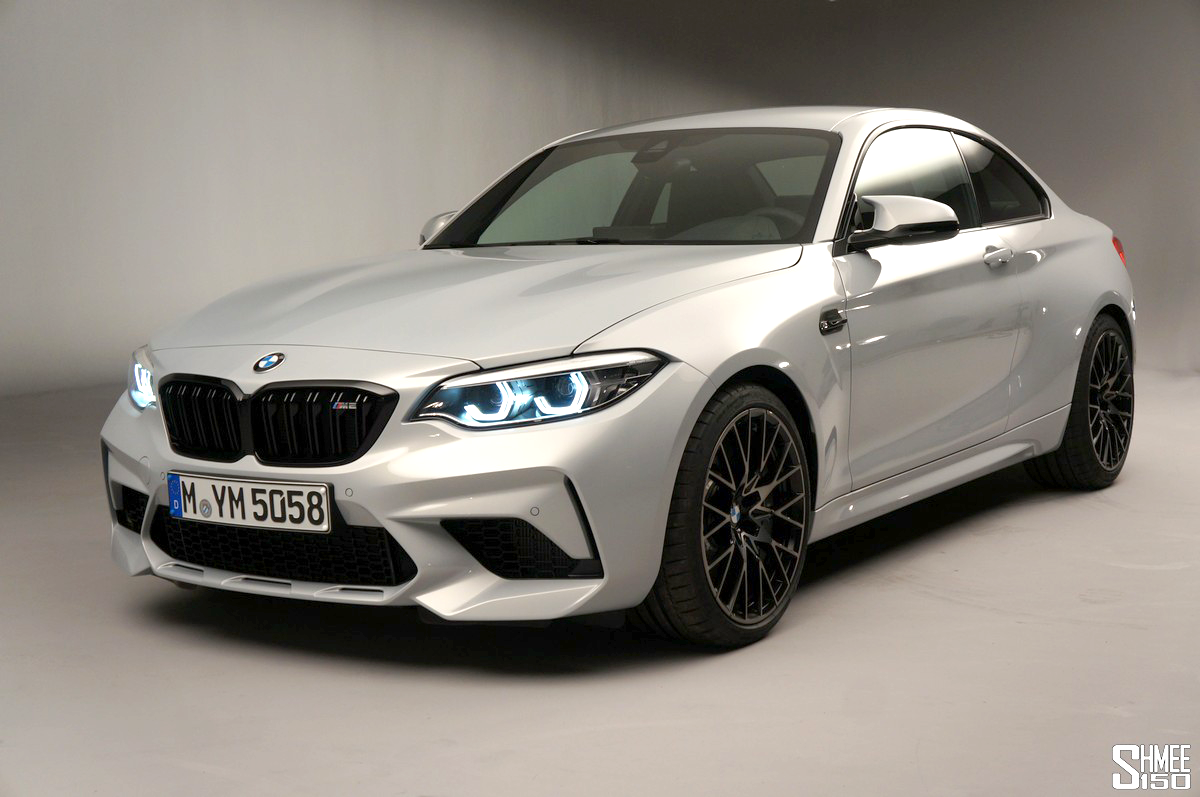 Simple M2 Competition Color And Wheels Photoshops