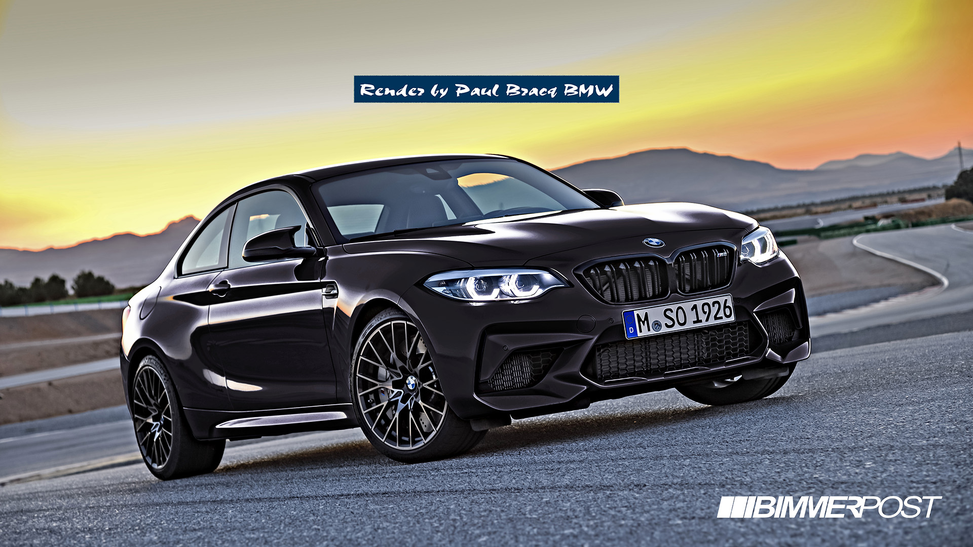 Simple M2 Competition Color And Wheels Photoshops Page 5