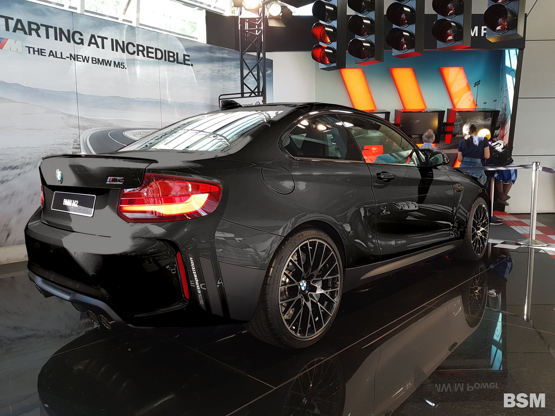M2 Competition With And Without M Performance Parts In All