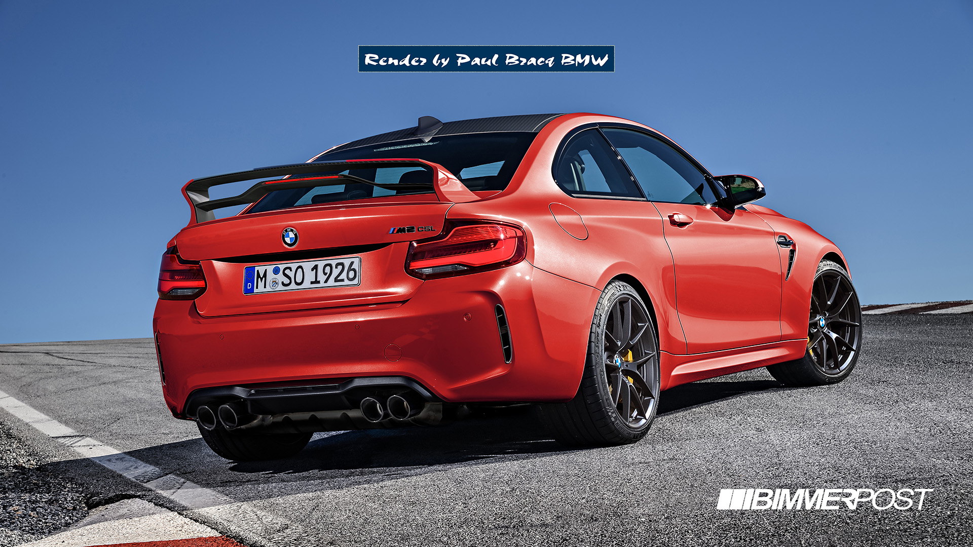 Name:  M2 Competition CSL Rear Red.jpg Views: 4828 Size:  734.1 KB