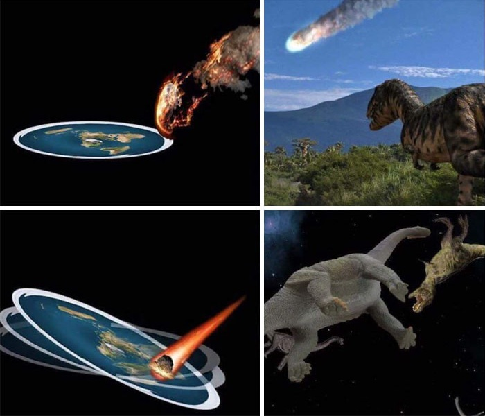 Name:  FlatEarth_Dinosaurs.jpg Views: 916 Size:  87.2 KB