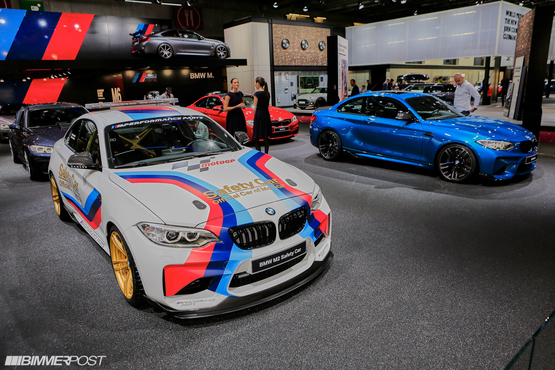 Paris 2016: BMW M2 MotoGP Safety Car Featuring M