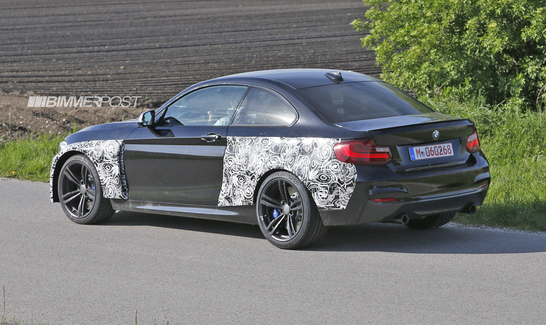 2016 bmw m2 f87 spotted on nurburgring and streets. Black Bedroom Furniture Sets. Home Design Ideas