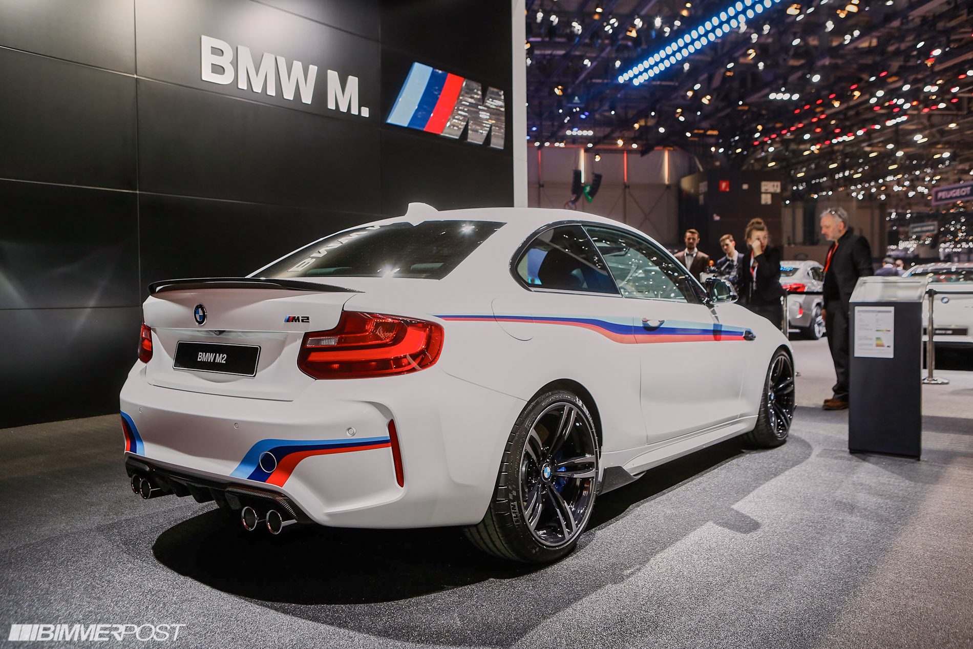 geneva 2016 bmw m2 and m2 m performance parts. Black Bedroom Furniture Sets. Home Design Ideas